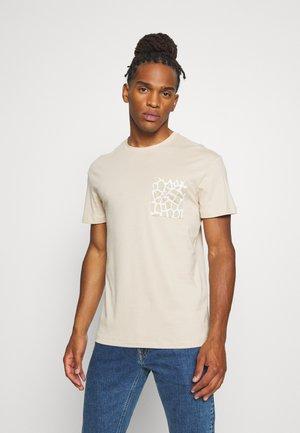 T-shirt imprimé - oxford tan/relax