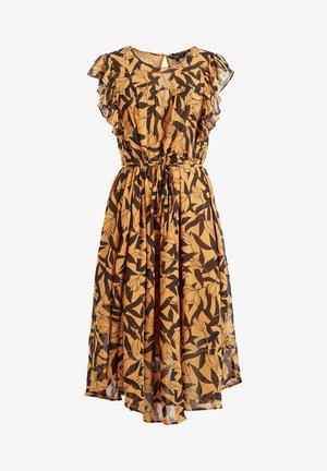 ANISA - Day dress - orange/black