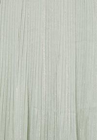 Bruuns Bazaar - SENNA CARMA SKIRT - Pleated skirt - pale aqua - 2