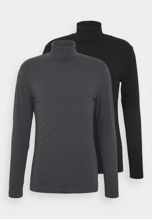 2 PACK - Långärmad tröja - grey/black