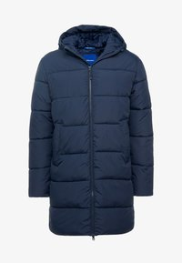 Jack & Jones - JORKNIGHT LONG PUFFER JACKET - Płaszcz zimowy - navy blazer - 4