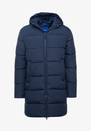 JORKNIGHT LONG PUFFER JACKET - Winter coat - navy blazer
