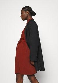 Zign - Shirt dress - dark red - 3