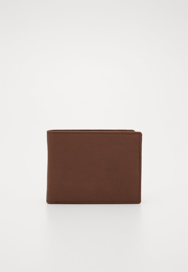 LEATHER - Lompakko - brown