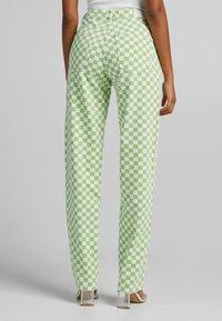 Bershka - Straight leg jeans - green - 2