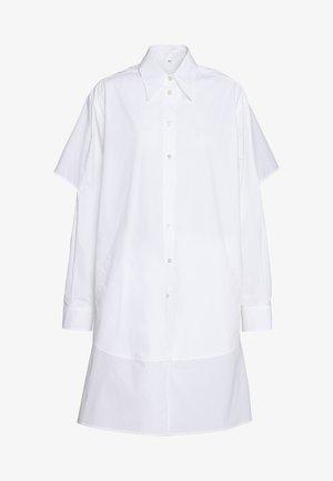 Košilové šaty - bright white
