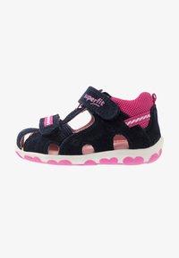 Superfit - FANNI - Baby shoes - blau - 0