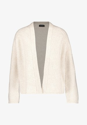 MIT STRUKTUR - Cardigan - winter white melange