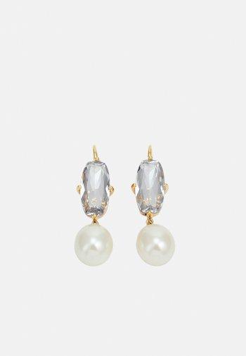 ANITA EARRING - Earrings - white