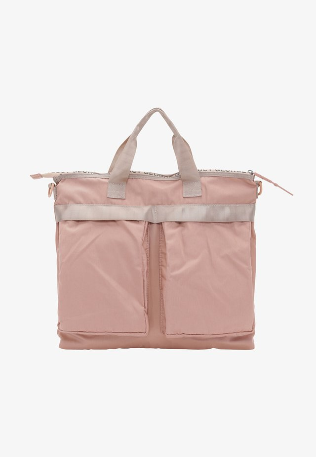JOHNNY JUNIOR - Baby changing bag - dusty rose