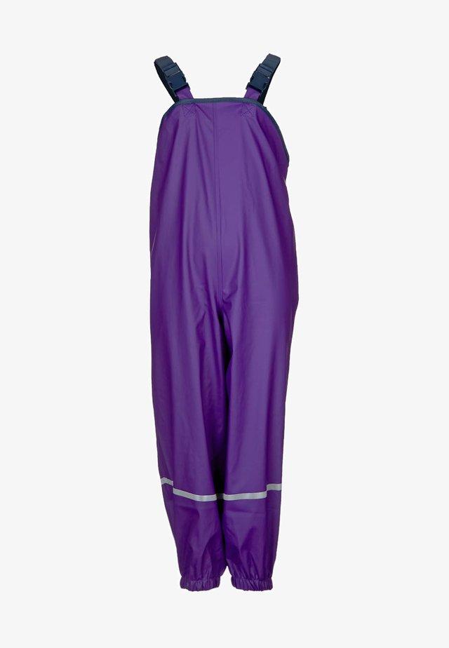 Kalhoty do deště - lila
