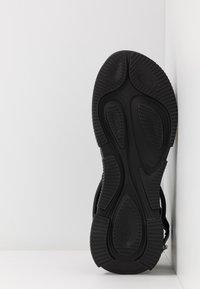 Sportmax - DIRETTA - Platform sandals - nero - 4