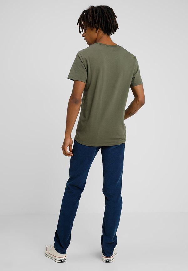 Levi's® ORIGINAL TEE - T-shirt basic - cotton patch olive night/oliwkowy Odzież Męska SOFH
