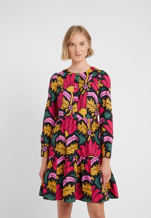 BEATRICE DRESS - Sukienka letnia - black/green/multi