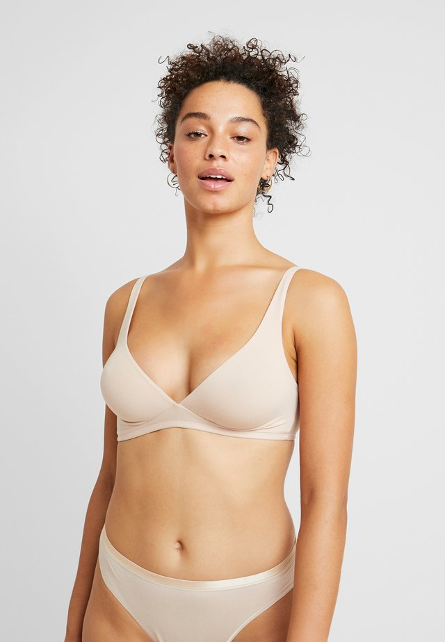 SENSATION SOFT CUP - Triangle bra - skin