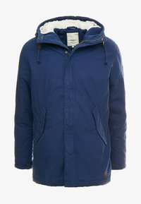 Produkt - PKTAKM PARKA TEDDY JACKET - Parka - dress blues - 4