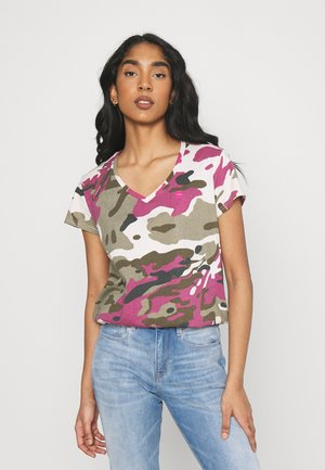 VNECK - T-shirts print - whitebait pop multi