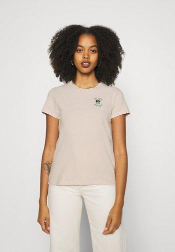 WELLTHREAD PERFECT TEE - T-shirt basic - sand