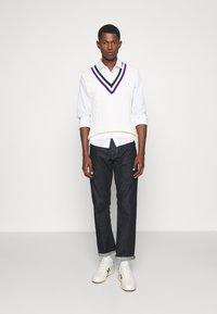 Polo Ralph Lauren - TENNIS VEST - Pullover - cricket cream - 1