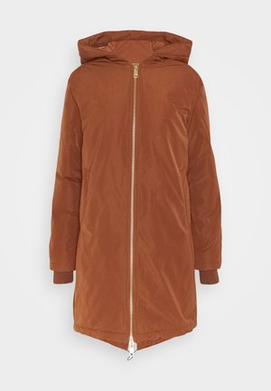 PADDED JACKET WITH PRIMALOFT FILLING - Winterjas - cinnamon