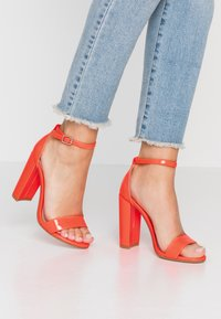 Steve Madden - CARRSON - High heeled sandals - orange - 0