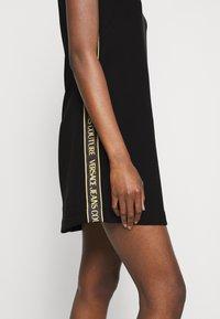 Versace Jeans Couture - LADY DRESS - Shift dress - black - 4