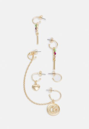 PCPARIS EARRINGS SET - Earrings - gold-coloured/multi