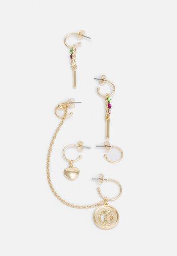 PCPARIS EARRINGS SET - Earrings - gold-coloured/multi