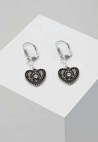 Alpenflüstern - Earrings - antik silber - 0