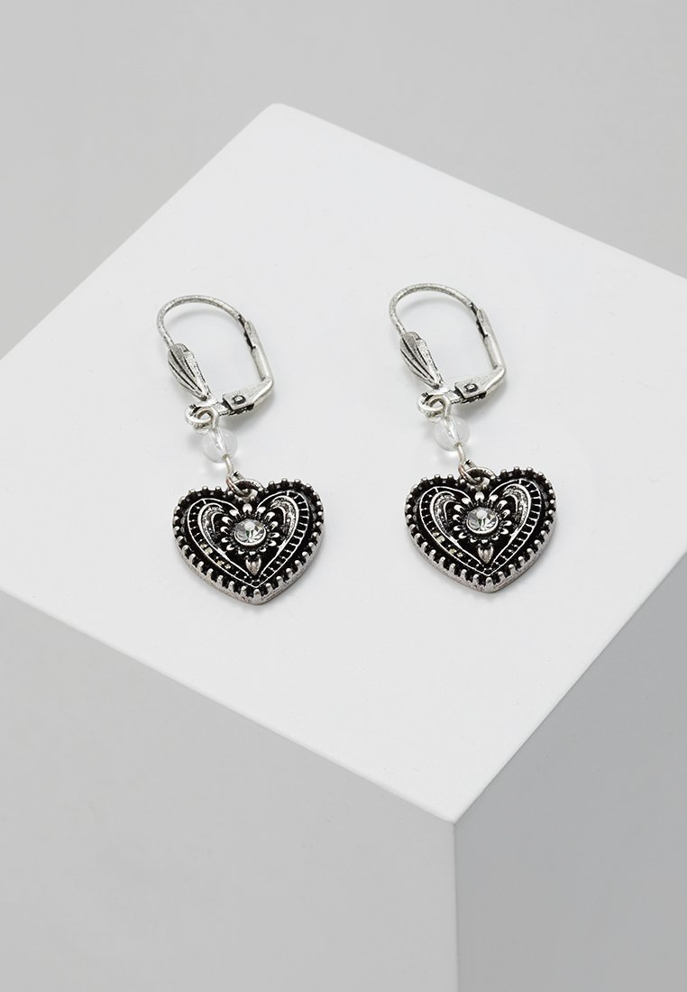 Alpenflüstern - Earrings - antik silber