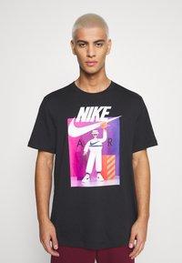 Nike Sportswear - TEE AIRMAN FUTURA - Print T-shirt - black - 0