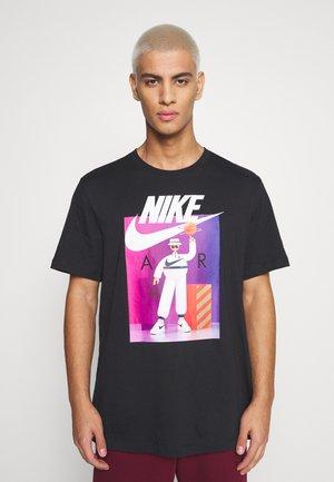 TEE AIRMAN FUTURA - Camiseta estampada - black