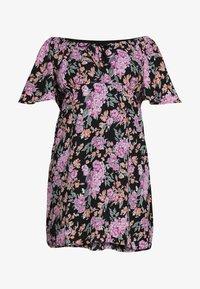 Fashion Union Plus - ROSE DRESS - Day dress - black - 3