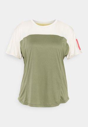 EARTH GANG - T-shirt imprimé - deep lichen green