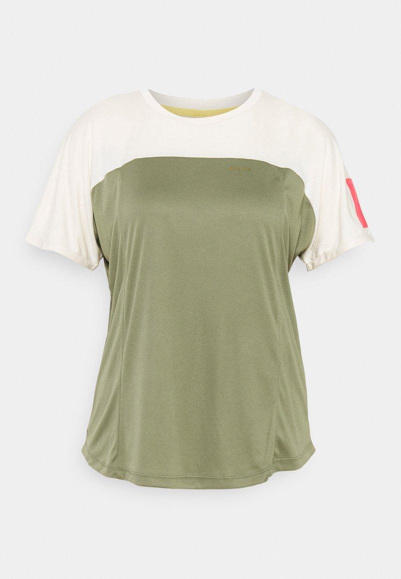 Roxy - EARTH GANG - Print T-shirt - deep lichen green