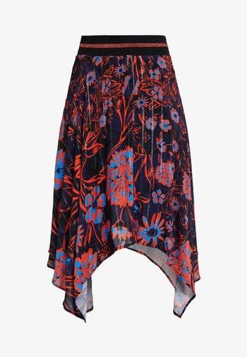 ITACA - A-line skirt - multi-coloured