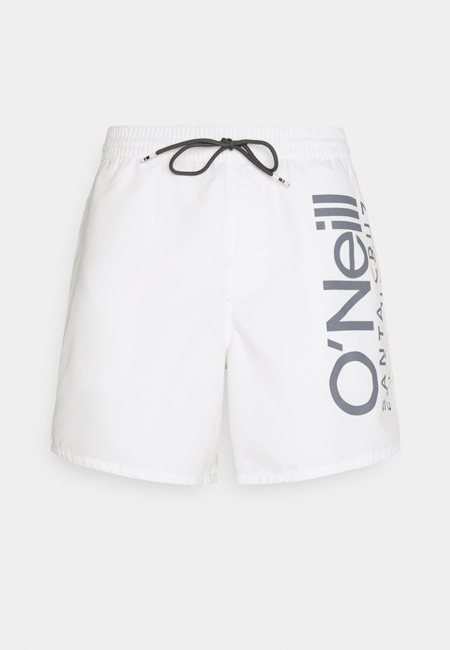 ORIGINAL CALI - Badeshorts - powder white