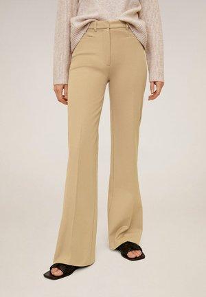 MIRANDA - Spodnie materiałowe - mittelbraun