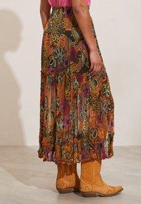 Odd Molly - A-line skirt - apricot tan - 2