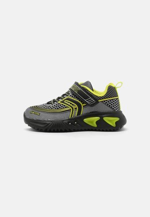 ASSISTER BOY - Trainers - black/lime