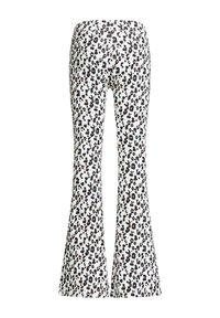 WE Fashion - MET LUIPAARDDESSIN - Legging - off-white - 4