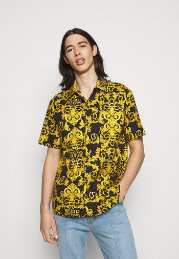 LOGO BAROQUE - Camicia - black