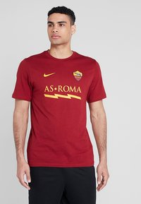 Nike Performance - AS ROM TEE CORE MATCH - Pelipaita - team crimson - 0