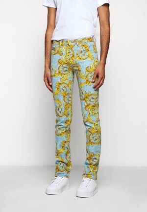 BULL BAROQUE - Džíny Slim Fit - azzurro scuro