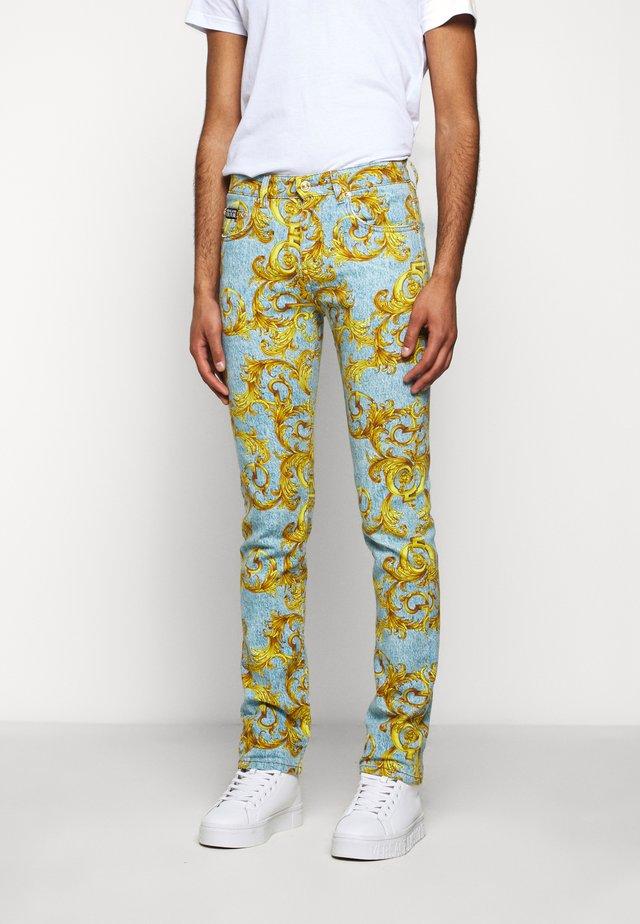 BULL BAROQUE - Jeans slim fit - azzurro scuro