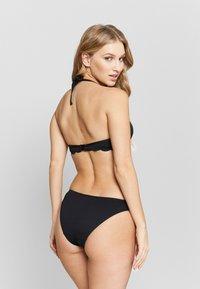 Hunkemöller - SCALLOP GLAM LOW RIO - Bikini bottoms - nero - 2