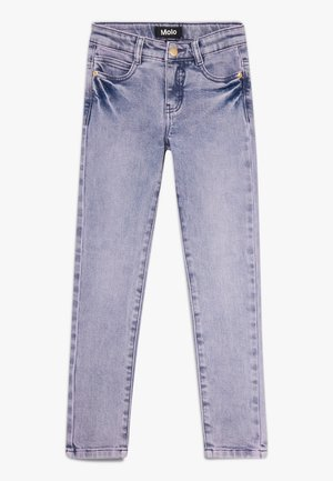 ADELE - Jeans Skinny Fit - grey purple denim