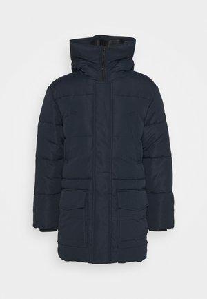 Zimní kabát - sky captain blue