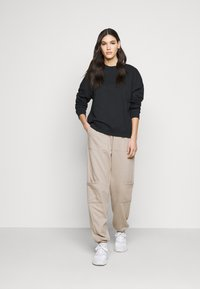 Topshop Tall - UTILITY JOGGER - Tracksuit bottoms - stone - 1