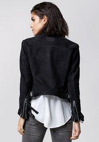 Tigha - TIMELESS RACER - Leather jacket - black - 2